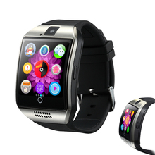 Buy Pedometer Smart Sport Watch Men Q18 Bluetooth Touch Screen Support TF Card Fitness Run Camera Smart Watch IOS Android for $14.99 in AliExpress store