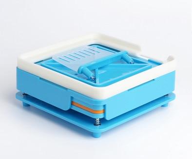 6 Piece / Set Capsule Machine Manual Encapsulator/ABS Manual Capsule Filling Board/Capsules Filling Device 0# S-100 Holes<br>