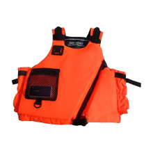 Professional women men adult lifejacket outdoor  rafting  surfing suit with attached PVC nylon oxford life vest life jacket