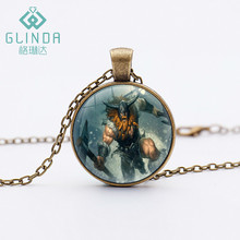 Glinda 11 Style Olaf The Berserker Black Necklaces Personalized Gift Handmade Charms Pendant league of legends Skins Jewelry