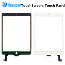 Touch Screen Digitizer Front Touch Panel Glass Lens for iPad Air 2 / 6 TouchScreen Replacement Spare Parts TP Repair Accessories
