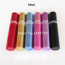 10ml glass spray bottle,empty perfume spray bottle,cosmetic perfume bottle refillable glass atomizer bottle 10pcs/lot