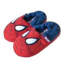 Children Shoes Boys Girls Indoor Shoes Kids Slippers spider man shoes Warm Winter Boy Shoes Child flats Sneaker tx0794(China)