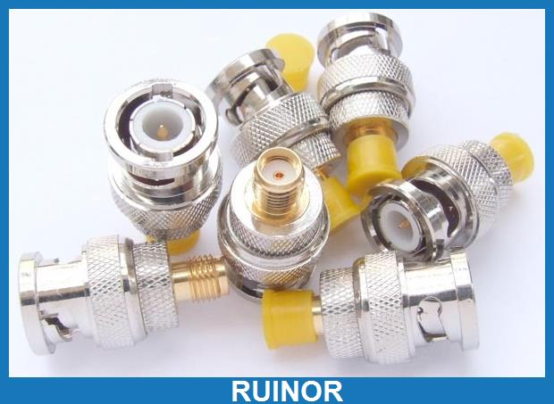 100pcs Male BNC to SMA Female Coaxial Plug to SDR Software Defined Radio Adaptor<br><br>Aliexpress