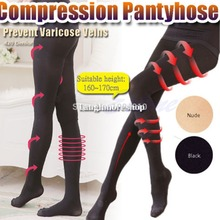 Buy Popular Women Girl Compression Burn Body Leg Shaper Fat Thin Stocking Pantyhose