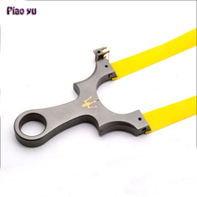 Genuine Piao Yu Maser Slingshot For Hunting High Quality Titanium Alloy Catapult flat rubber Band Outdoor Shooting New(China)
