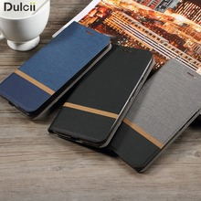 Dulcii for Galaxy A7 2017 A3 A5 S7 S8 Note 8 PU Leather Cover Cross business Card Holder Phone Case for Samsung Galaxy A7 (2017)(China)