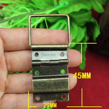 Even iron wire hinge antique wooden box 29 * 45 medium support even wire hinge