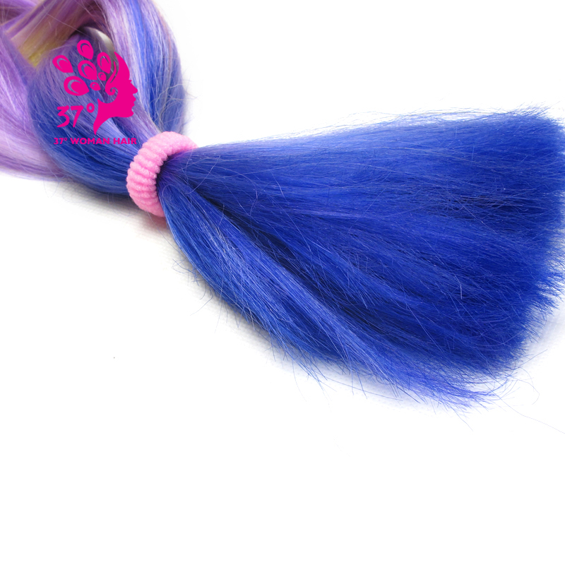 Ombre Kanekalon Braiding Hair box braids hair (135)