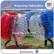 Free shipping!Half color 1.5m 0.8mm PVC giant inflatable balls, inflatable balls,the soccer bubble on sale