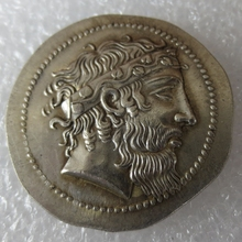 Type:#G09 Rare Ancient Greek Coin -415 Tetradrachm Copy Coin(China)