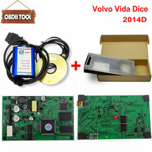 With Plactic Box For Volvo Diagnostic Tool For Volvo Dice Pro+ 2014D Full Chip Communication Equipment For Volvo Vida Dice Pro(China)