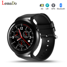 2017 Best ! Lemado IQI I4 Smart Watch phone Android 5.1 OS MTK6580 Quad-core Smartwatch support 3G GPS Wifi wristwatch