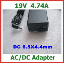 10pcs AC Power Adapter 19V 4.74A 90W DC 6.5x4.4mm Power Supply Charger for Sony Laptop Replacement Charger