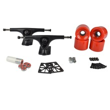 "7"" 180mm Longboard Trucks and Wheels 70x51mm Combo caminhao(China)"
