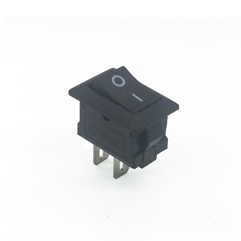 10pcs/lot 15*10 mm 2PIN Kcd1 Boat Rocker Switch SPST Snap-in ON/OFF Position Snap 3A/250V MINI