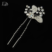 wedding headband butterfly hair combs accessories para bride jewel tiara hair women hairpin engagement wedding accessories A037