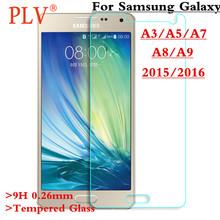 0.26mm Phone Screen Protector Explosion-Proof For A3 A5 A7 Tempered Glass Film For Samsung Galaxy A3 A5 A7 2016 2015 Glass
