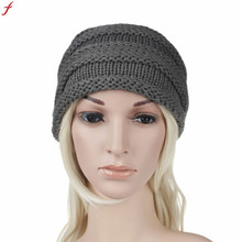 Twist Pattern Women Hat 2017 Autumn And Winter Bonnets Hat For Women Knitting Keep Warm Beanie Hat bonnet homme(China)