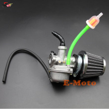 PZ19 19mm Carburetor And Air Filter 50CC 90CC 110CC ATV Go-Kart Carb Roketa SUNL Chinese