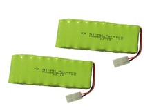 2X New Origina AA Ni-MH 12V 1800mAh Ni MH Rechargeable Battery Pack With Plugs Free Shipping