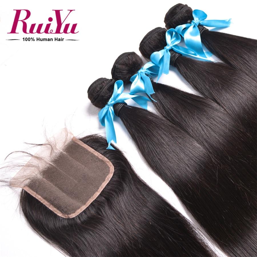 altPeruvian Virgin Hair With Closure 3 Bundles Human Hair With Closure 7A Unprocessed Peruvian Straight Virgin Hair With Closure