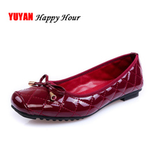 New 2017 Spring Autumn Flats Women Casual Shoes Flat Heel Soft Sole Fashion Womens Flats Plus Size 41 Brand Bowtie Ladies T165(China)