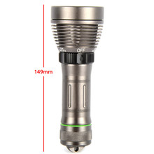2000 Lumens Diving LED Flashlight XM-L T6 LED Underwater 80M Waterproof 8 Mode Powerful Led Torch High Quality L0693 T0.11