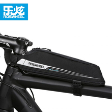 ROSWHEEL Cycling Aero Compact Top Tube Bag Bicycle Front Beam Storage Pouch Road Bike Stem Mount Pannier Bicicleta Triathlon Bag(China)
