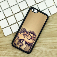 soft TPU Phone Cases For iPhone 6 6S 7 Plus 5 5S 5C SE 4 4S ipod touch 4 5 6 Cover Shell Up Pixar Cartoon Kiss Sketch Art
