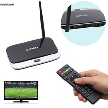 Kebidumei Set-top Boxes Andriod 4.4 Smart TV Box Quad Core 2G/16G Bluetooth 1080P WIFI Android TV Box CS918 Fully Loaded(China)