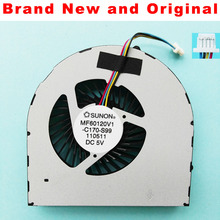 Brand New and original CPU cooling fan for Acer Aspire 5255 5560 5560G cpu cooling fan cooler MF60120V1-C170-S99(China)