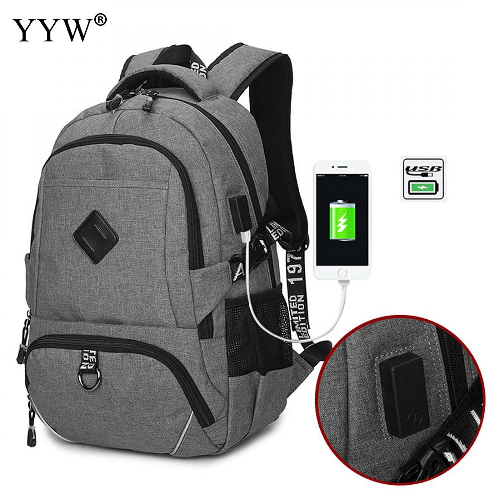 Best Men Backpack Laptops Schoolbag Load Reduction Anti-Theft Bag With USB Interface Sac A Dos Homme Waterproof Backpack <br>