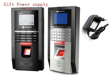 ZD2F20 Biometric Fingerprint Attendance Time Clock And Access Control With TCP/IP + power supply(China)