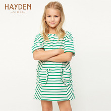 Buy HAYDEN stripe girl dresses red summer spring 7 8 10Y princess costume teenage clothes girls 13 years teens fashion clothing for $18.76 in AliExpress store