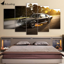 HD Printed ford mustang shelby gt350 Painting on canvas room decoration print poster picture canvas Free shipping/ny-1822