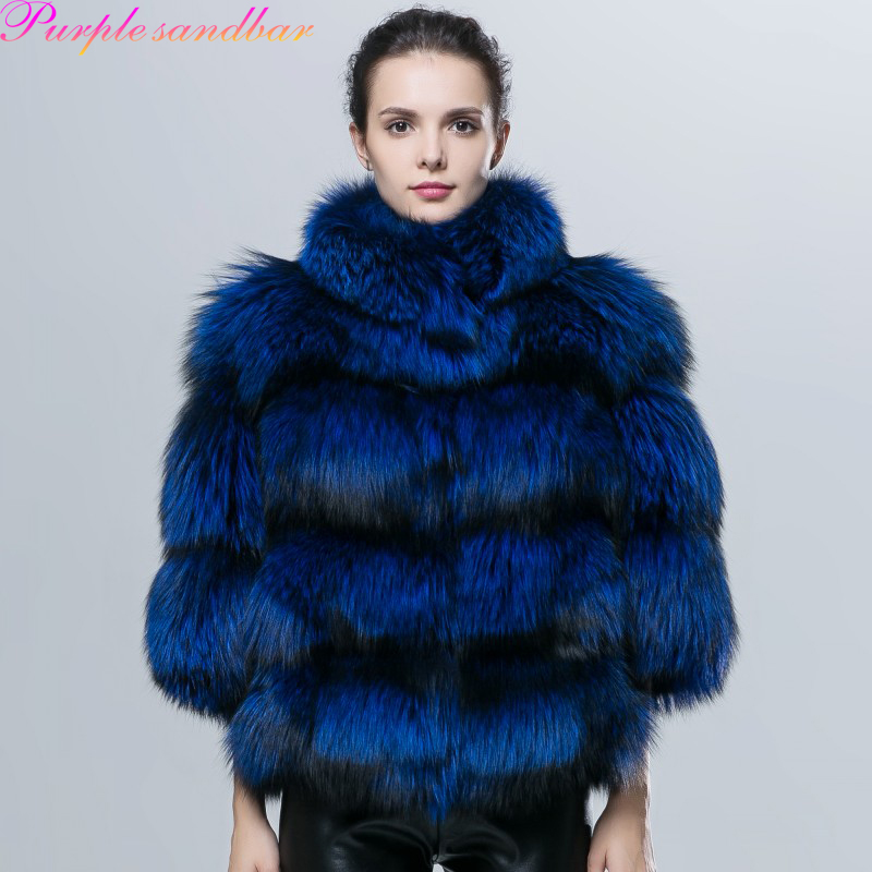 High Quality Purple Fur Coat Promotion-Shop for High Quality ...