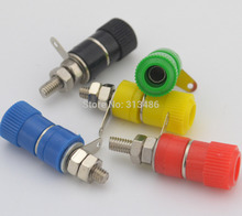 2pcs 4mm Banana Plug Binding Post Speaker For Cable Terminals(China)