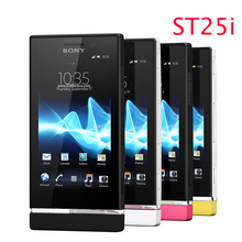 Refurbished Sony Ericsson Xperia U ST25 ST25i 3G GPS WIFI 5MP Android Unlocked Original Mobile Phone one year warranty