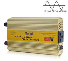 Meind@ 600W Power Inverter Pure Sine Wave 12V DC to 220V AC Converter Car inverters PSW Frequency Inverter Dropshipping