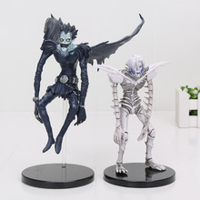 15-18cm Anime Death Note Deathnote Rem Ryuuku PVC Action Figure Collection Model Toy Free Shipping(China)