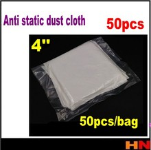 50pcs /bags Mobile phone LCD LED Repair clean cloth separating machine vacuum packing anti-static microfiber dusting(China)