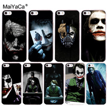 Buy MaiYaCa Yatman joker Dark Knight Colorful Phone Accessories Case Apple iPhone 8 7 6 6S Plus X 5 5S SE 5C 4 4S Cover for $1.28 in AliExpress store