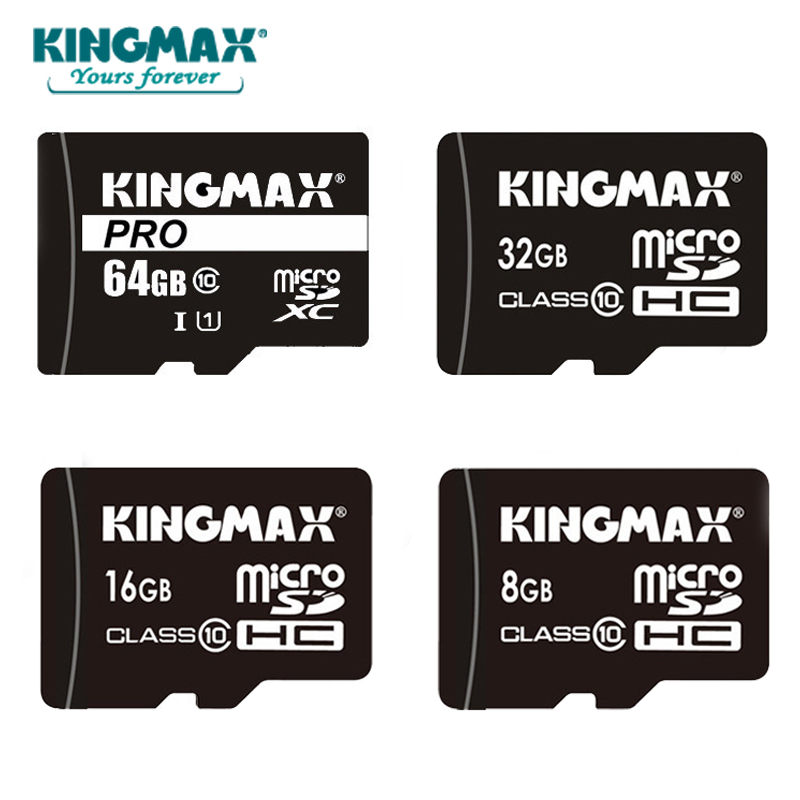 KINGMAX Memory Card 32GB 16GB 8GB microSDHC card class 10 32GB Micro sd card Trans Flash for Smartphone Pad Camera(China)