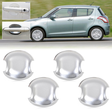 DWCX Exterior Car-Styling Chrome Door Handle Cup Bowl Trim Cover for Suzuki Swift Grand Vitara 2005-2008 2009 2010 2011