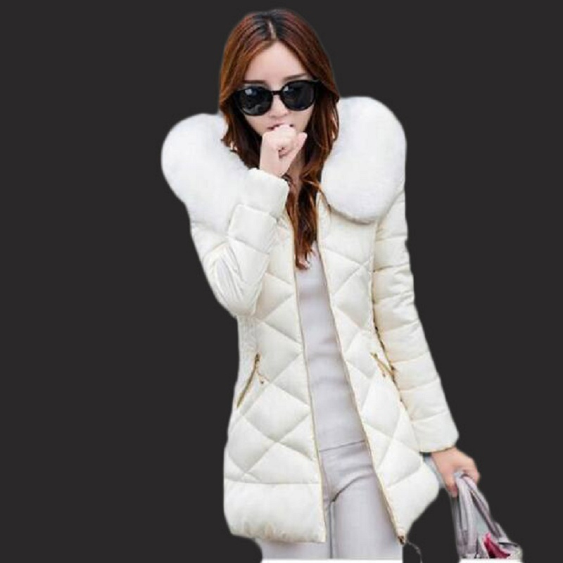Winter jacket women Hot 2017 new lady park long female jacket thick coat and coat high quality warm Women's winter coats(China)