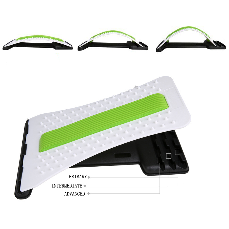 Acupuncture and Back Massage Fitness Equipment Relax Mate Stretcher Lumbar Support Spine Pain Relief Chiropractic<br>