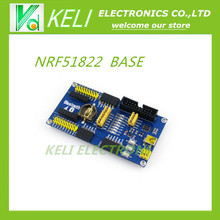 Free Shipping  1pcs  NRF51822 BLE4.0 Bluetooth Evaluation Board 2.4G Wireless Communication Module  NRF51822 BLE4.0  base