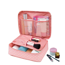 Women's Travel Bags Beauty cosmetic Make up Storage Organization Cute Lady Wash Handbag Pouch Camping Overnight Accessories item