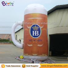 Free Delivery 5 Meters high inflatable beer cup replica customized digital printing blow up cup model for promotion toys(China)